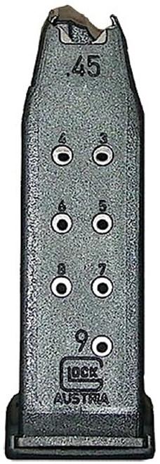 Glock G30 Magazine 45 ACP, Polymer Black, 9rd