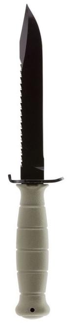 """Glock Field Knife Field, Sawback 6.5"""" Spring Steel HRC55 Phosphate KF39181"""