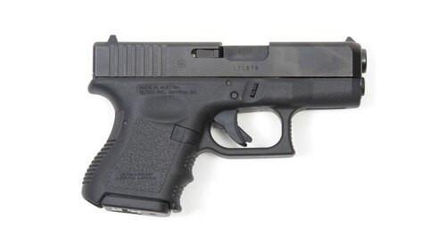 "Glock G26 Gen3 9mm, 3.5"", Fixed Sights, 10rd"