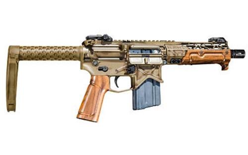 """Battle Arms Development Tanker Pistol, .300 Blackout, 7.5"""", 20rd, Walnut Forend & Pistol Grip"""