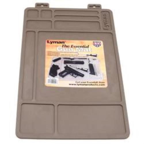 Lyman Essentials Gun Maintenance Matt, Synthetic Rubber, Brown