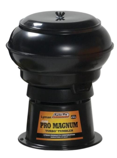 "Lyman 2500 Pro MagnumTurbo Case Tumbler 13"" Bowl"