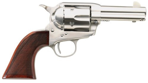 "Taylor's Runnin Iron Single 45 Colt 3.5"", Walnut Grip, 6rd"