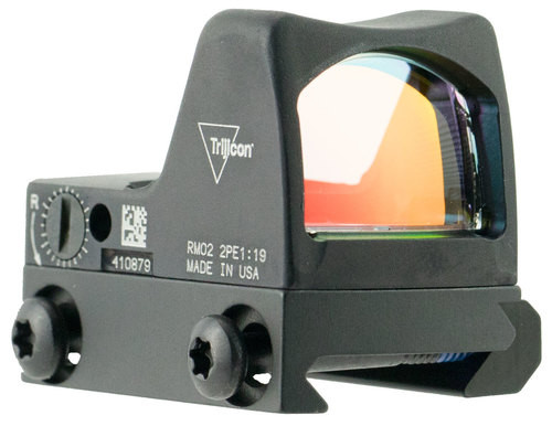 Trijicon RMR Type 2 with RM33 Picatinny Rail 1x Obj Unlimited Eye Relie