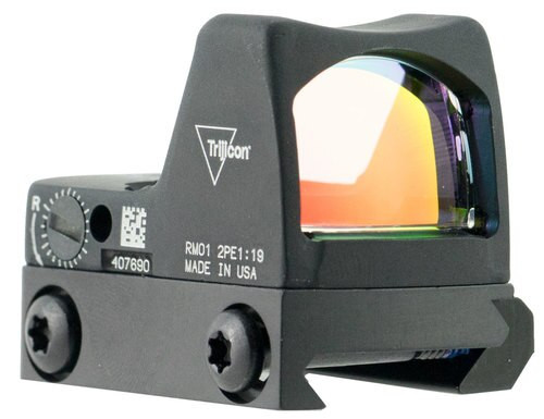 Trijicon RMRLED Type 2 with RM33 Picatinny Rail 1x Obj Unlimited Eye R