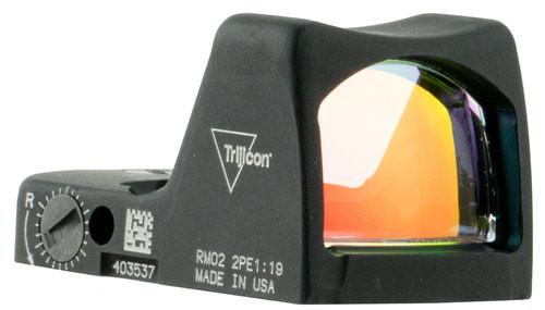Trijicon RMR LED Type 2 1x Obj Unlimited Eye Relief 3.25 MOA Black