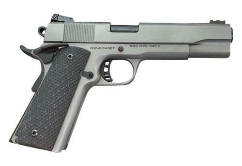"Rock Island Armory Ultra 10 1911 10mm, 5"" Barrel, Gray Cerakote, G10 Grips, 8rd"