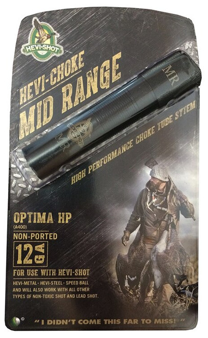 HEVI-Shot Hevi-Choke Waterfowl 12ga, Mid-Range A400, Black