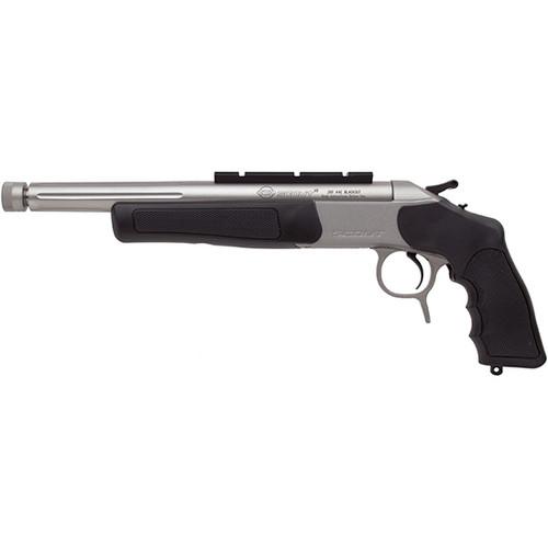 CVA Scout Pistol .300 AAC Blackout 11.5 Inch Stainless Steel Barrel DuraSight Z2 Scope Rail Stainless Steel/Black