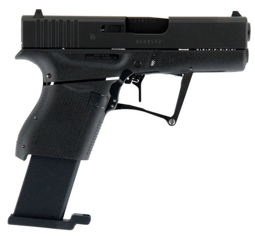 "Full Conceal M3S G43 Foldable Sub-Compact Pistol, 9MM, 3.39"" Barrel, Fixed Sights, Glock 43 Slide 8rd Mag"