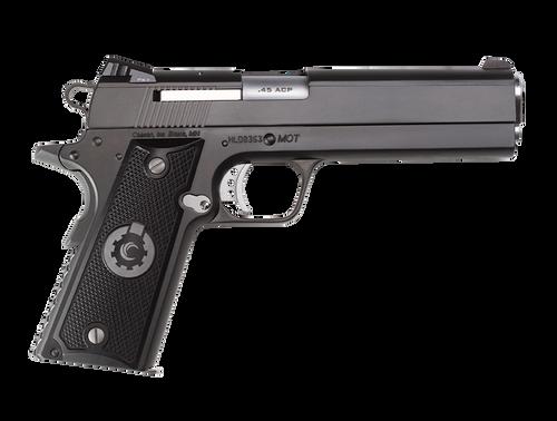 "Coonan MOT 45 ACP, 5"", Black Ionbond Stainless, Adj. White Dot Sights, Black Alum Grips, 2 Mags (Special Order)"