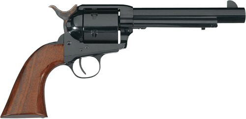 "Taylor's 1873 Cattleman 44 Rem Mag, 6"", Blued Finish Walnut Grip, 6rd"