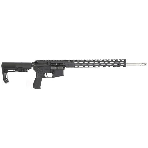 "Radical Firearms AR-15, 224 Valkyrie, 18"" SS Match Barrel, 15"" M-Lok Rail Minimalist Stock, PP Brake, 15rd Mag"