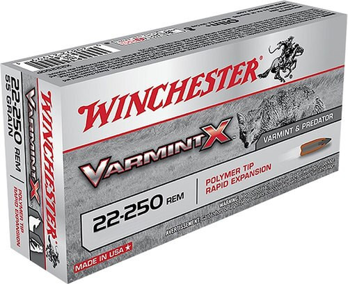 Winchester Varmint X 22-250 Rem 38gr Lead-Free 20rd Box