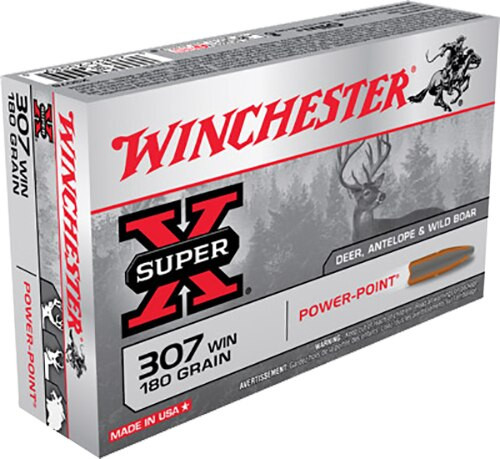 Winchester Super-X 307 Win Power-Point 180gr, 20rd Box