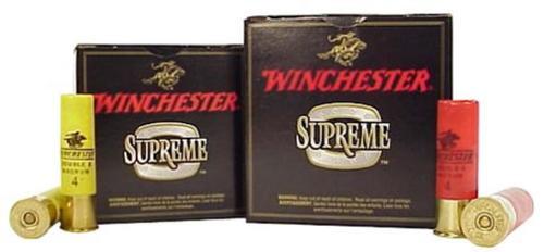 """Winchester Supreme XX Magnum 12 Ga, 2-3/4"""", 1-1/2 oz, #5 Lead, Copper Plated, 25rd/box"""