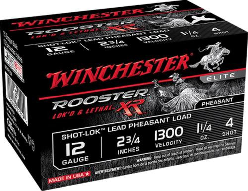 "Winchester Rooster XR Shot-Lok 12 Ga, 3"", 6 shot, 15rd/Box"