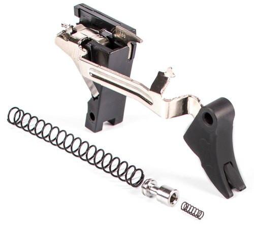 Zev Curved Trigger Drop In 9mm Black/Black, Glock Gen1-3