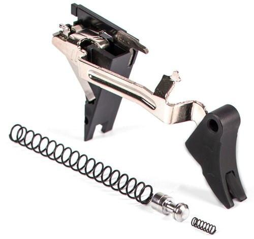 Zev Curved Trigger Drop In 9mm Black/Black, Glock Gen4