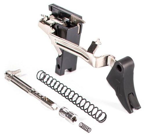 Zev Curved Trigger Ultimate 9mm Black/Black, Glock Gen1-3