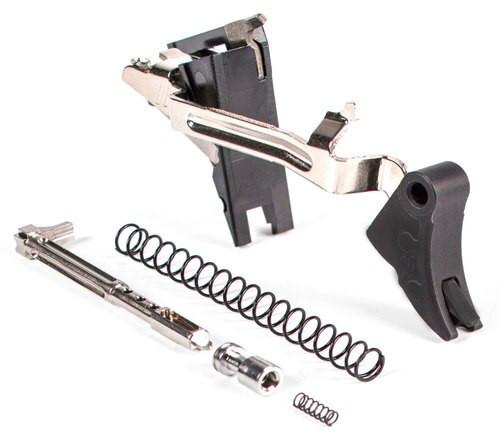Zev Curved Trigger Ultimate 9mm Black/Black, Glock Gen4
