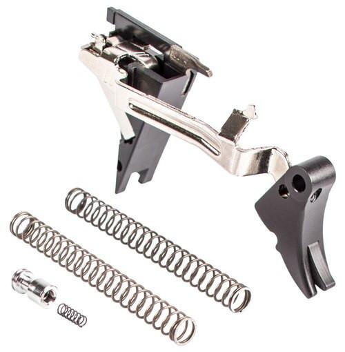 Zev Fulcrum Glock 9mm Black/Black, Gen4
