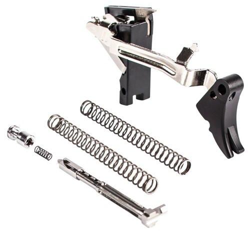 Zev Adjustable Fulcrum Ultimate Glock 9mm, Black/Black, Gen1-3
