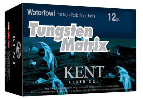 "Kent Tungsten Matrix 12 Ga, 3"", 1.25oz, 3 Shot, 10rd/Box"