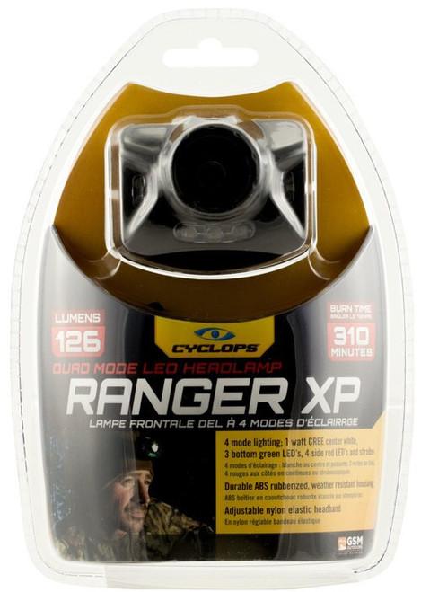 Cyclops Ranger XP 126 Lumens AAA (3) Black