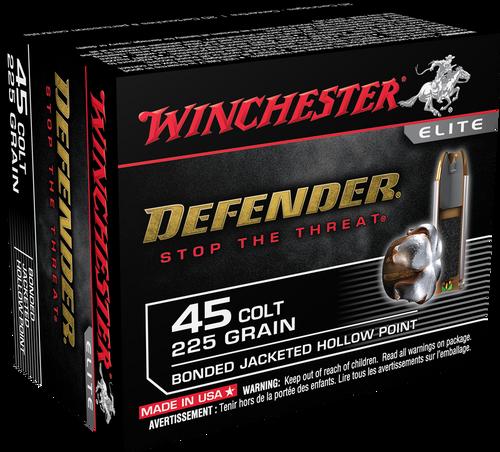 Winchester Bonded PDX1 Defender .45 Colt 225gr Bonded PDX1 20rd Box