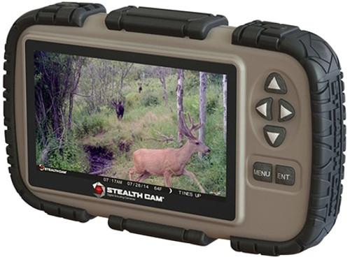 "Stealth Cam SD Memory Card Viewer 4.3"" LCD Tan/Black AAA (4)"