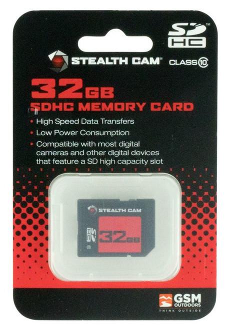 Stealth Cam SD Memory Card 32GB