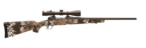 Savage Model 11 Trophy Predator Hunter 22-250 XP Kryptek Brush, Nikon 3-9x40 Scope Combo