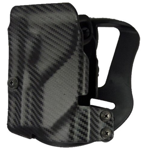 UM Tactical Universal Holster Paddle Right Hand Attach Carbon Fiber Black