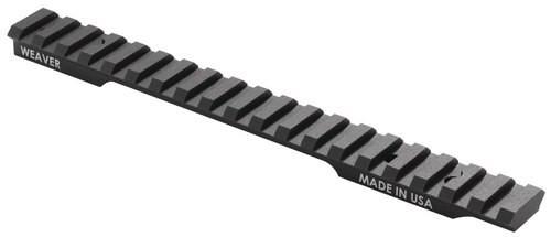 Weaver Mounts 1-Piece Base Remington 783 Short Action, Picatinny, Black