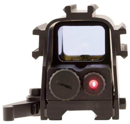 NcSTAR Tri-Rail 1x Obj Unlimited Eye Relief 2 MOA Black