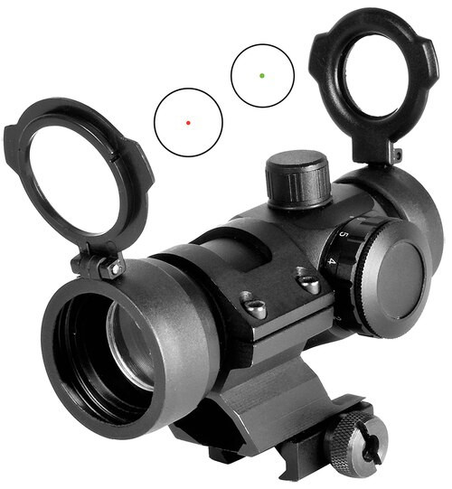 NcSTAR Dual Illuminated 1x 30mm Obj Unlimited Eye Relief 3 MOA Black