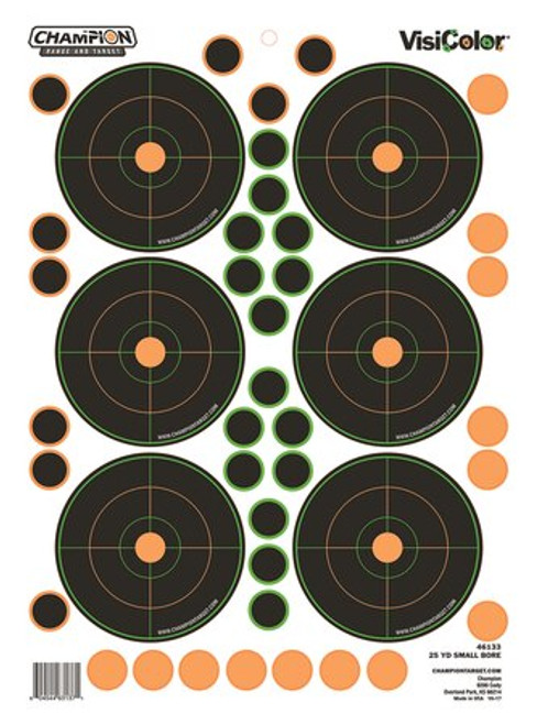 Champion 25yd Small Bore 5 Pack, 90 Pasters