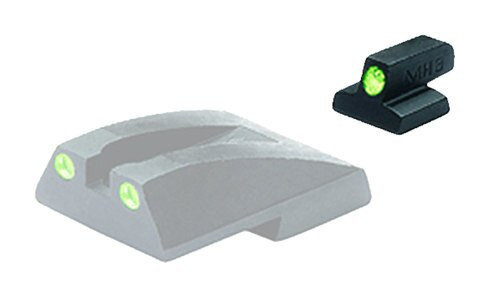Meprolight Tru-Dot Night Sight Fixed S&W 1911 Tritium Green Black