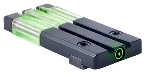 Meprolight FT Bullseye Rear Sight S&W M&P Fiber Optic Green Black