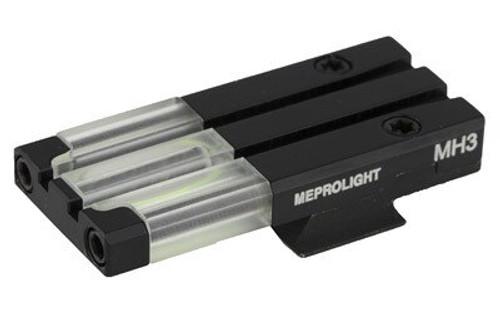 Meprolight FT Bullseye Rear Sight S&W M&P Shield Fiber Optic Green Black