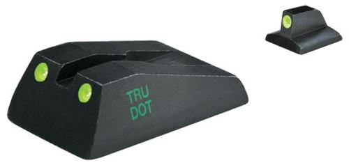Meprolight Tru-Dot Night Sight Fixed Set Ruger SR9/SR40 Tritium Green