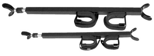 """Great Day Quick Draw Overhead Gun Rack for UTV with 23""""-28"""" Roof Black"""
