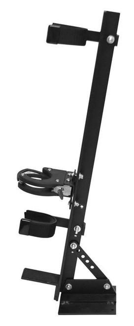 Great Day Quick Draw Vertical Locking Gun Rack Black Aluminum