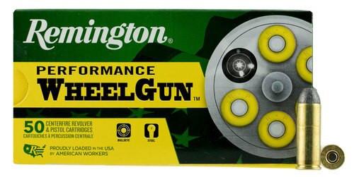 Remington Performance WheelGun 45 Long Colt 250gr, Round Nose, 50rd/Box