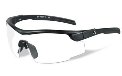 Remington Wiley X RE 101 Shooting/Sporting Glasses Black Frame Clear Lens