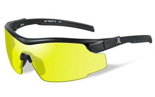 Remington Wiley X RE 102 Shooting/Sporting Glasses Black Frame Yellow Lens