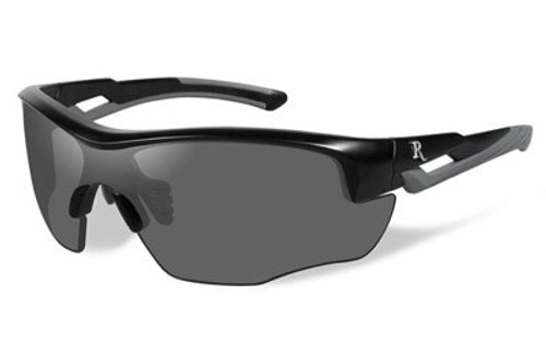 Remington Wiley X RE 300 Shooting/Sporting Glasses Youth Black/Gray Frame Smoke
