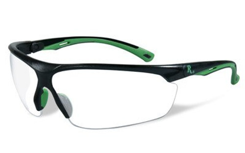 Remington Wiley X RE 501 Shooting/Sporting Glasses Adult Black/Green Frame Clea