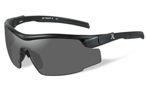Remington Wiley X Shooting/Sporting Glasses Adult Black Frame Smoke Gray